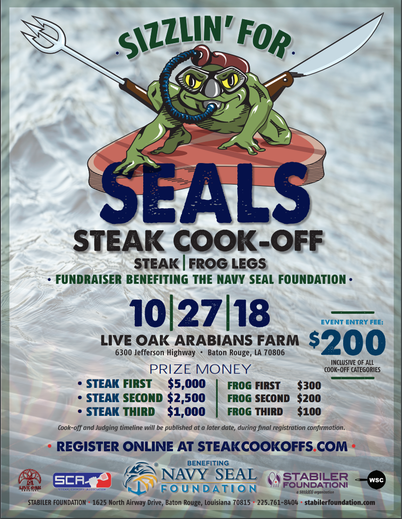 Sizzlin' for SEALs benefiting the Navy SEAL Foundation