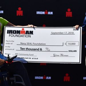 Ironman Foundation supports the Navy SEAL Foundation